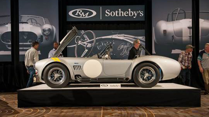 The top-selling 1966 Shelby 427 Cobra 'Semi-Competition' shines at RM Sotheby's Arizona preview