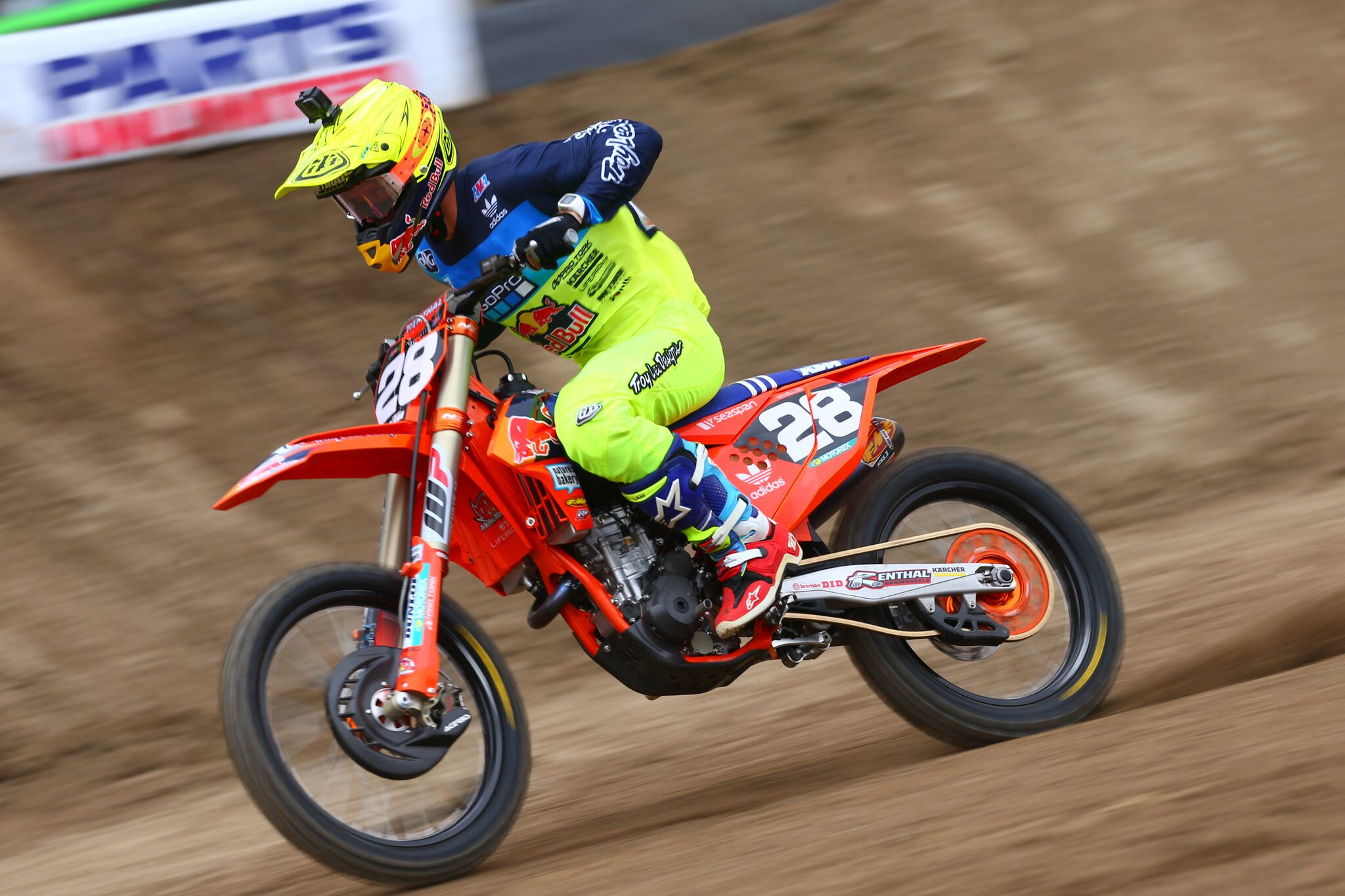 Troy Lee Designs Red Bull KTM's McElrath Anaheim-2