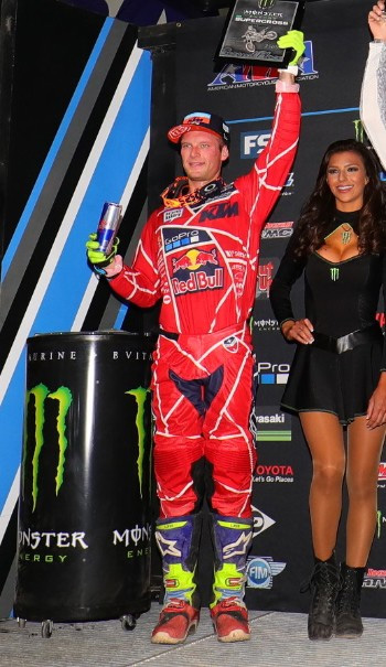 Troy Lee Designs-Red Bull-KTM's McElrath Puts in Solid Effort to Earn Runner-Up Finish in Glendale-1