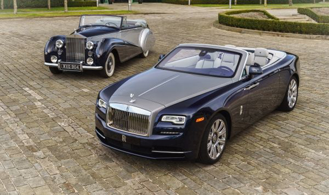 HOMAGE TO ROLLS-ROYCE SILVER DAWN WITH 1952 ROLLS-ROYCE SILVER DAWN