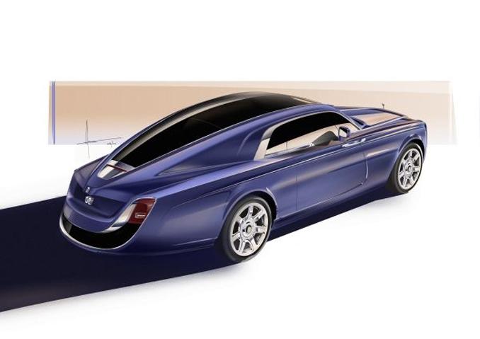 rolls-royce sweptail rolls-royce motor cars bespoke