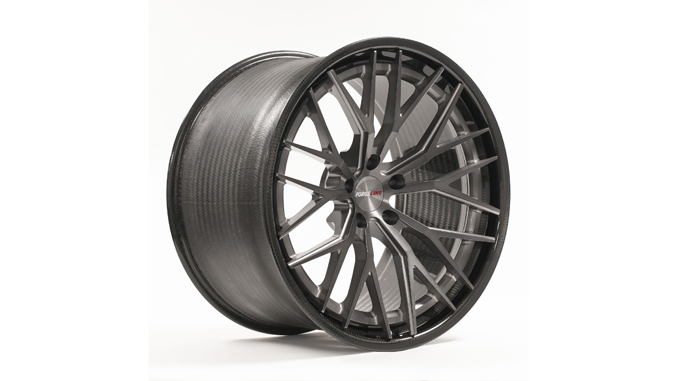 Forgeline CF203 Dark Trans Smoke