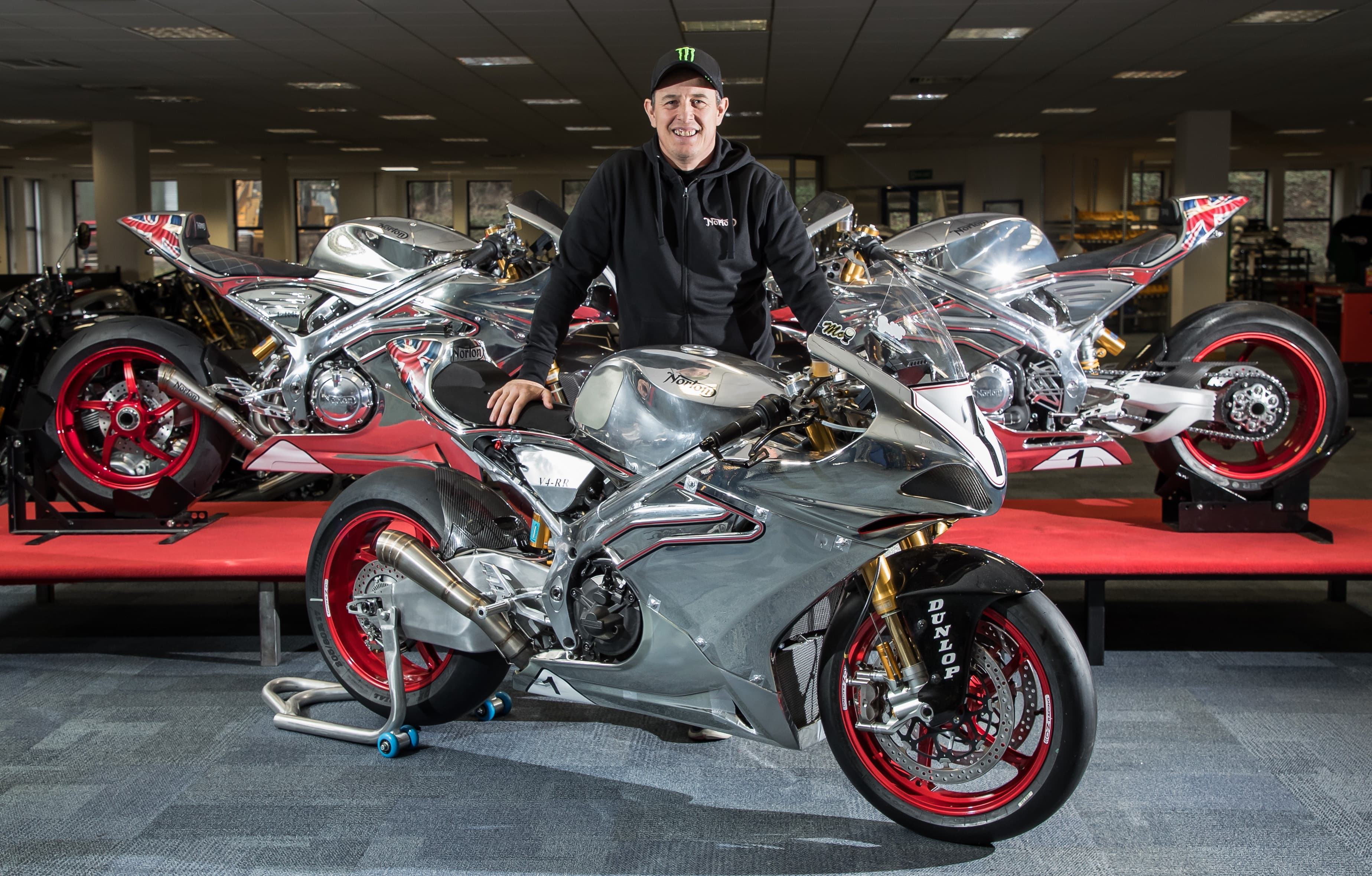 Norton Signs John McGuinness for 2018 Isle of Man TT Races-2