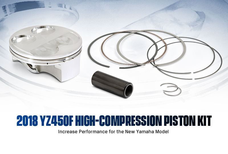 Pro Circuit 2018 YZ450F High-Compression Piston Kit