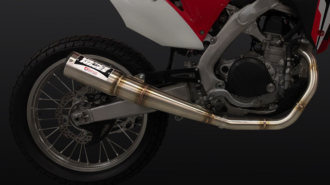 Vance & Hines Launches Officially-Licensed American Flat Track Exhaust System for AFT Singles- Honda