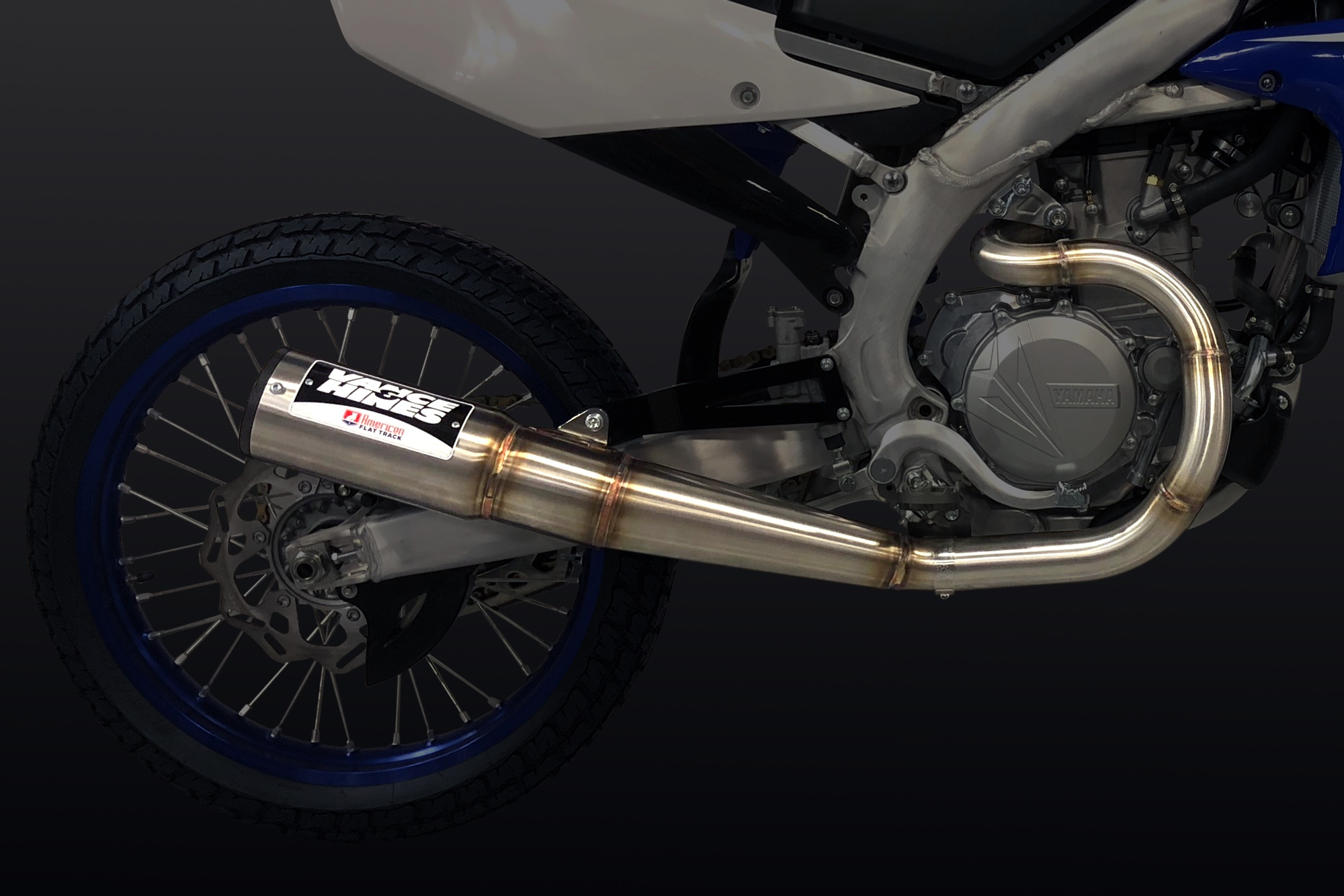 180212 Vance & Hines Launches Officially-Licensed American Flat Track Exhaust System for AFT Singles- Yamaha