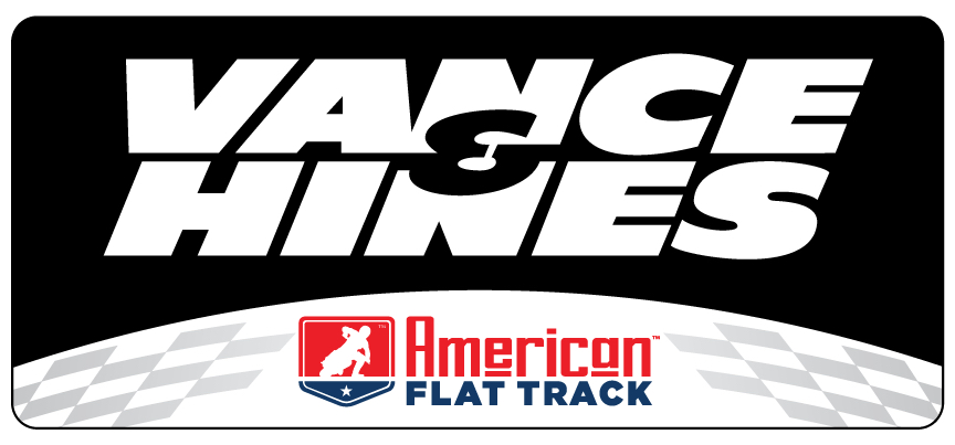 Vance & Hines Launches Officially-Licensed American Flat Track Exhaust System for AFT Singles logo
