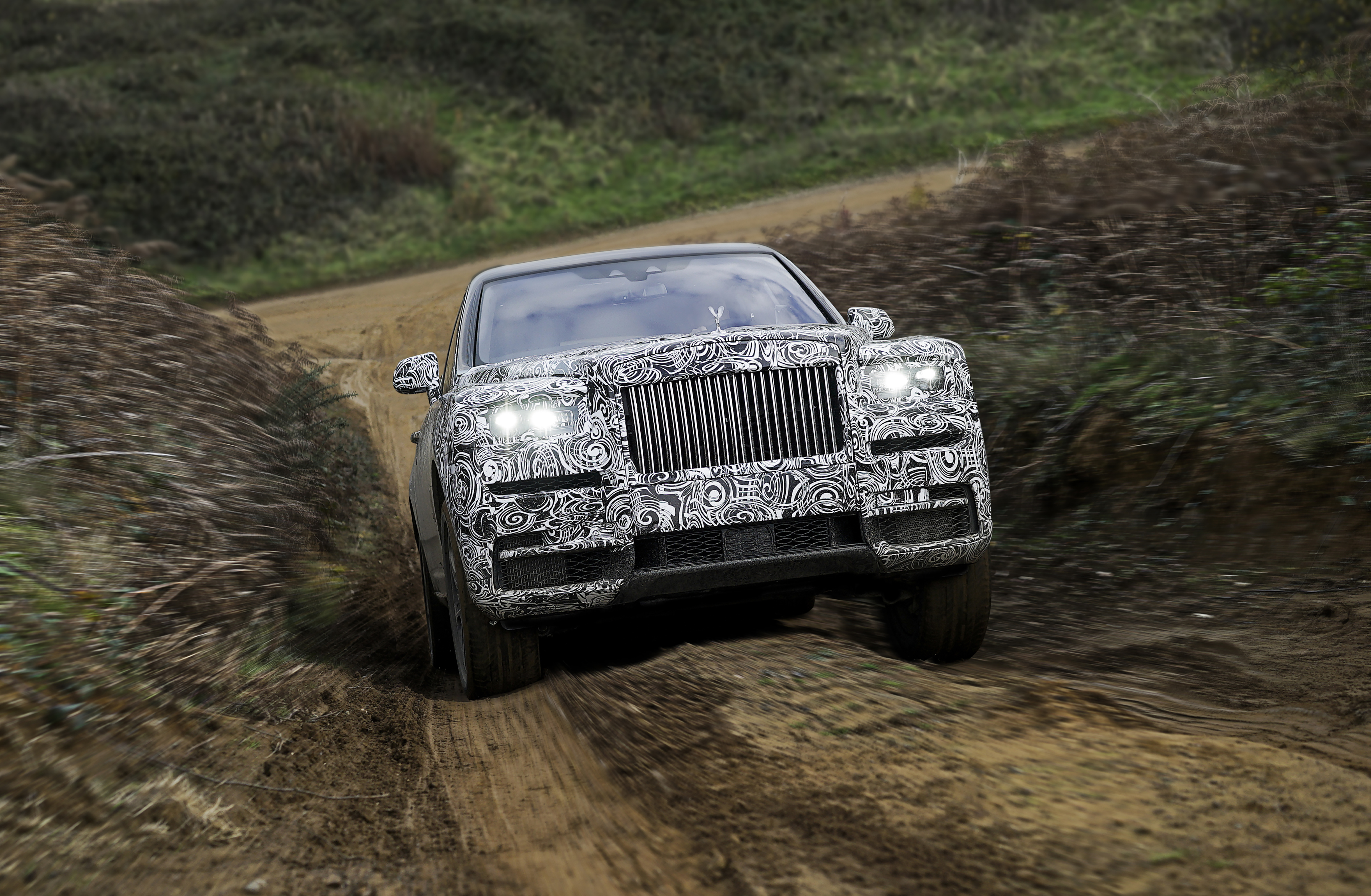 NAME OF NEW HIGH BODIED VEHICLE TO BE ROLLS-ROYCE CULLINAN