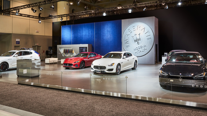 Maserati at the 2018 Canadian International AutoShow