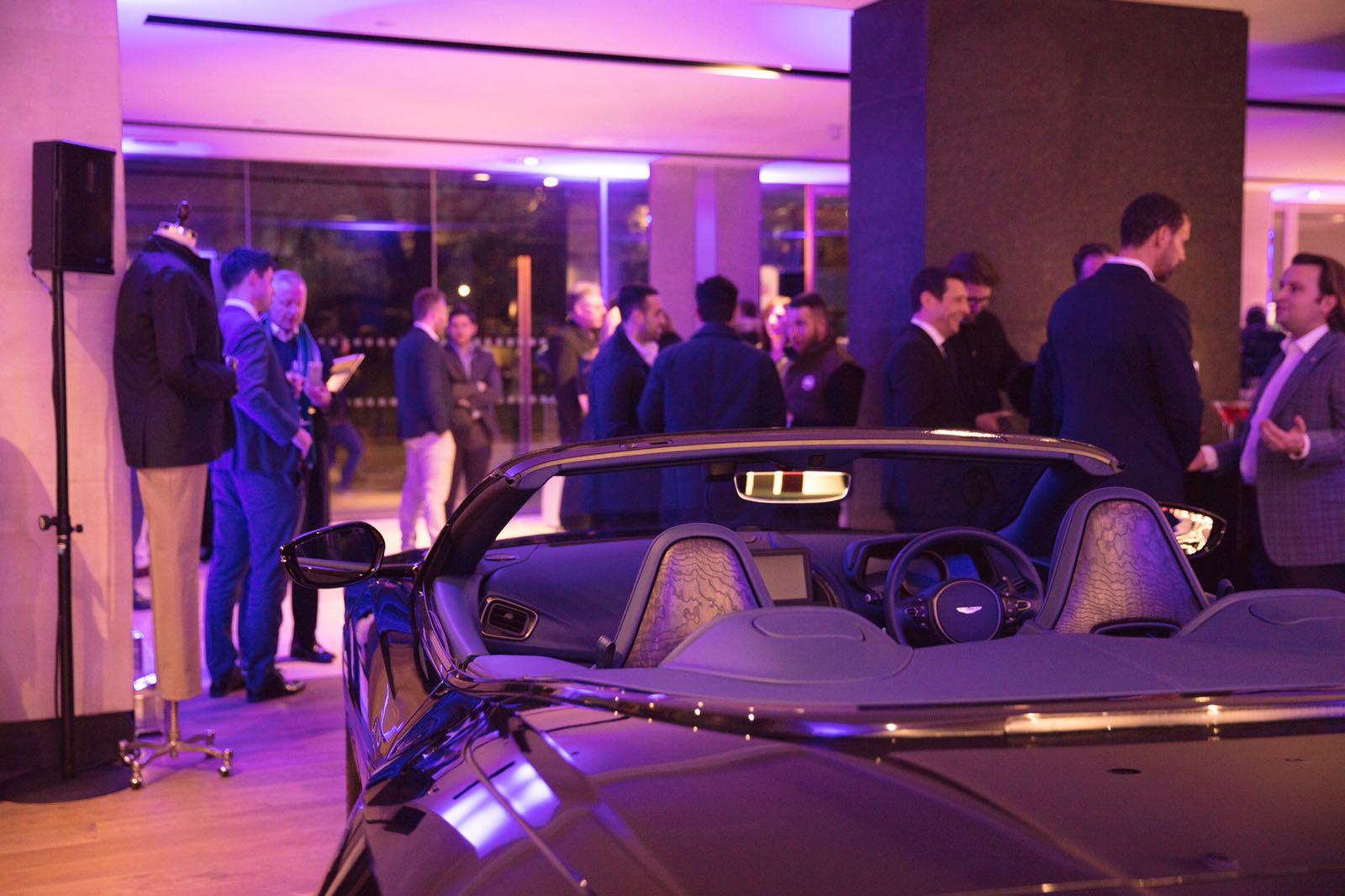 Aston Martin Mayfair Opening