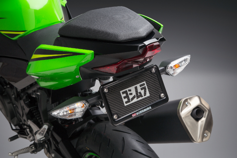 2018 Ninja 400 with Yoshimura Fender Eliminator Kit.