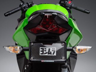 2018 Ninja 400 with Yoshimura Fender Eliminator Kit