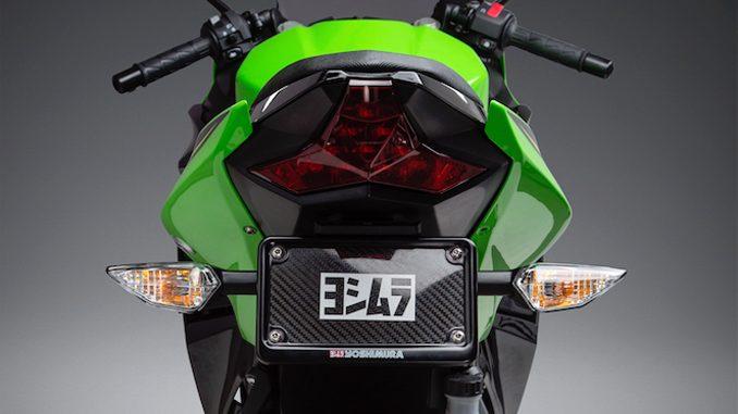 2018 Ninja 400 with Yoshimura Fender Eliminator Kit