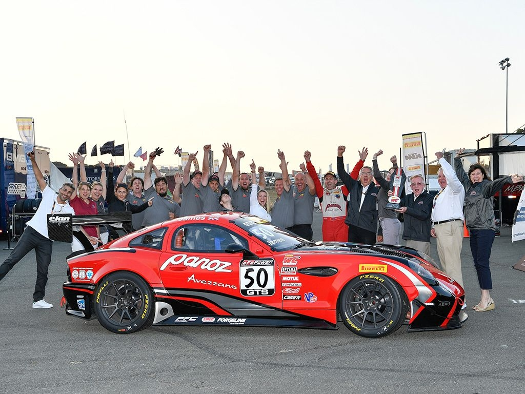 Forgeline Motorsports - Now An Official Sponsor of the Pirelli World Challenge - Panoz Team Victory