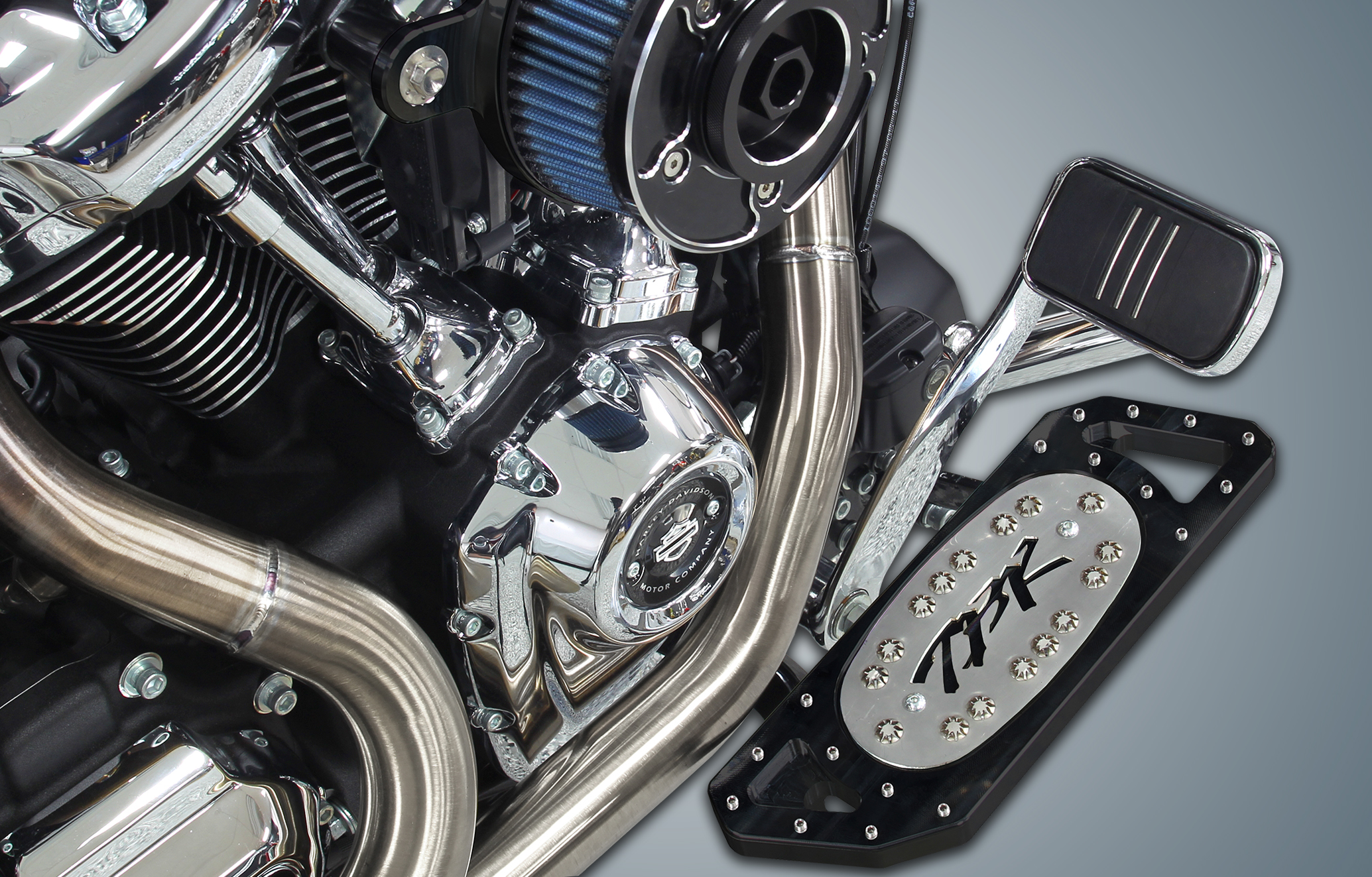 Two Brothers Racing proudly introduces Floorboards for HD Touring & Softail models
