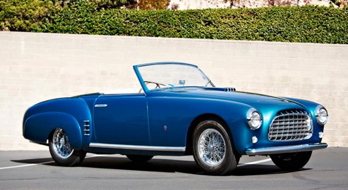 1952 Ferrari 212 Europa Cabriolet - Gooding & Company's Amelia Island Auction