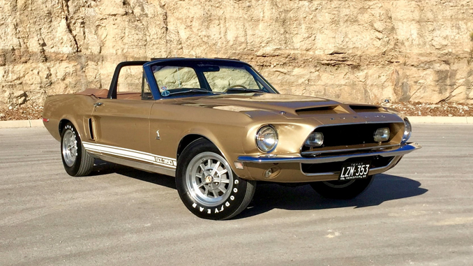 1968 Shelby GT350 Convertible Shelby No. 02778 - 1 of 2 Produced as Equipped - Lot S74