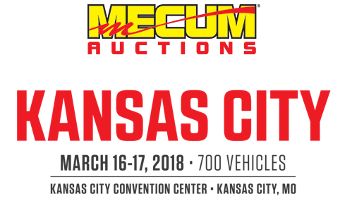 2018 Mecum Auction Kansas City logo