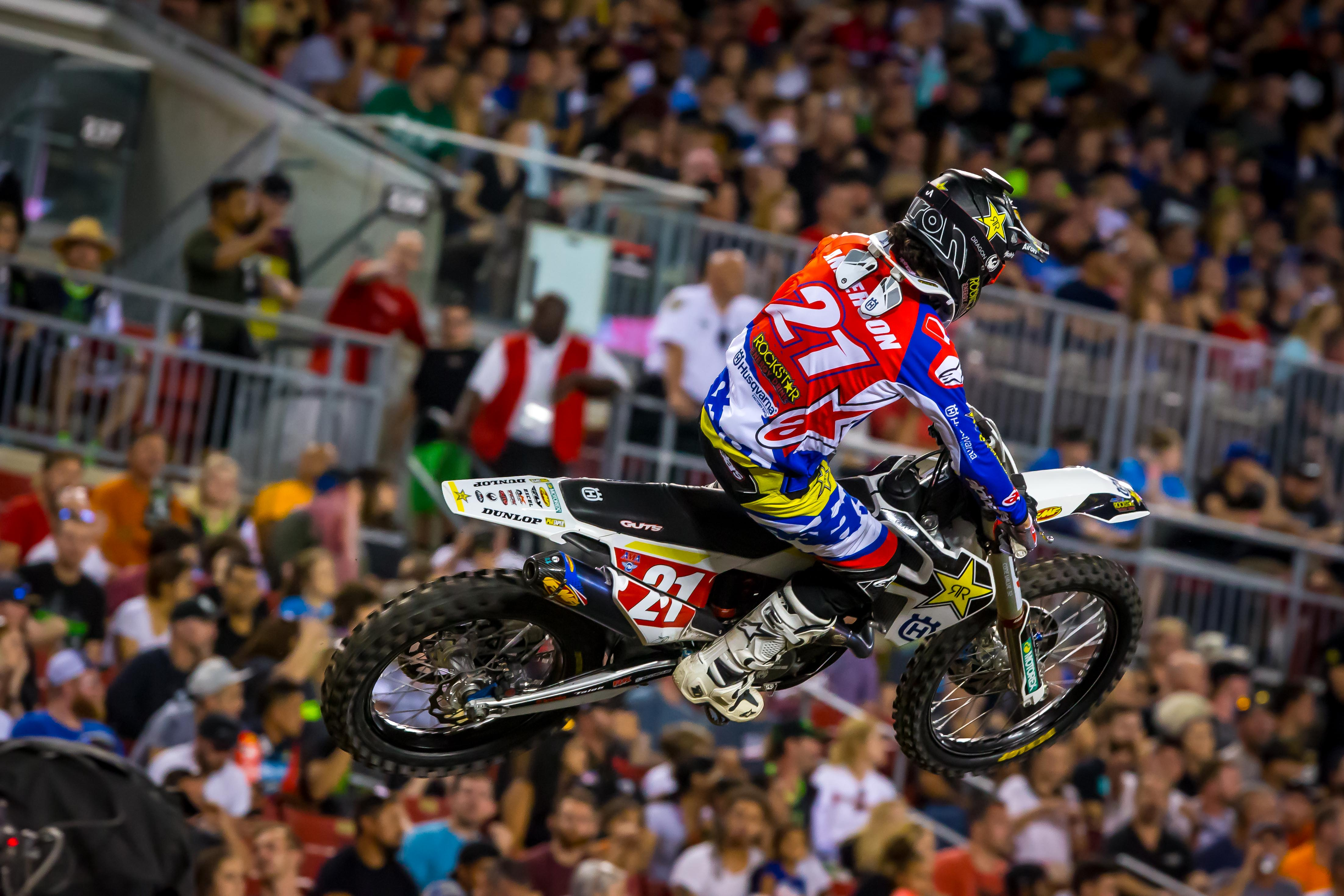 Husqvarna Factory Racing - Anderson maintains a nice points lead in the 450 class.