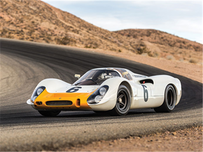 Another look at the Porsche 908 Works 'Short-Tail' Coupe, RM Sotheby's early entry for its 2018 Monterey sale | Credit – Robin Adams © 2018 Courtesy of RM Sotheby's