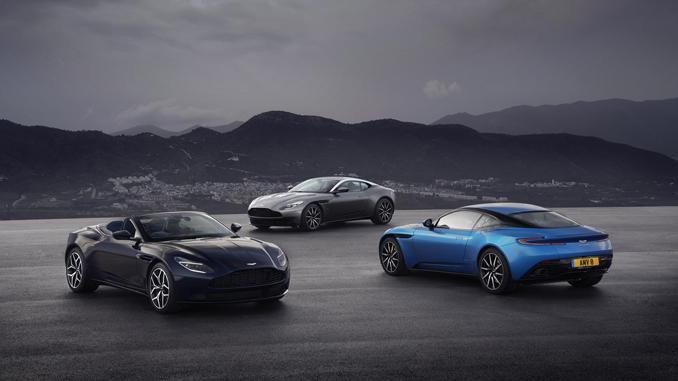 Aston Martin Geneva Motor Show 2018 DB11 Family(1)