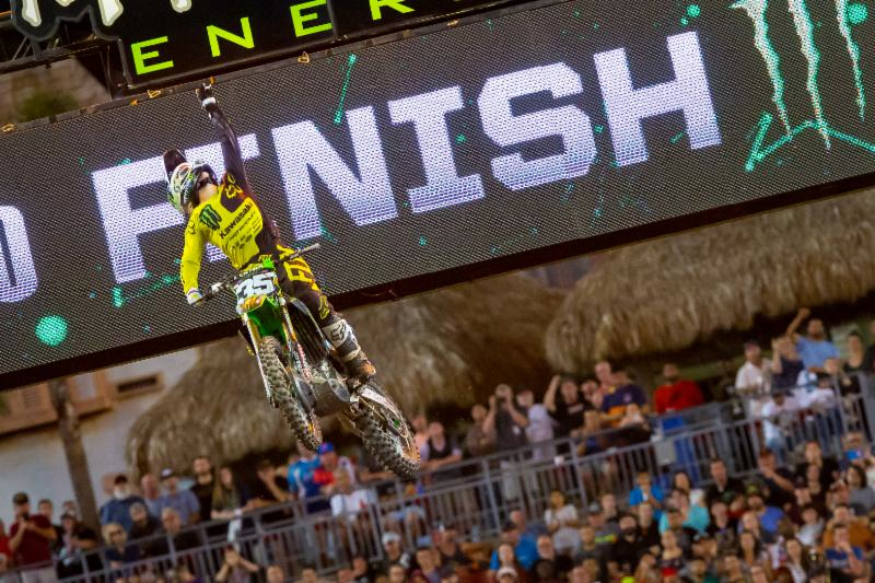 Monster Energy Supercross - Austin Forkner scored his first career victory of the 2018 Eastern Regional 250SX Class Championship in Tampa