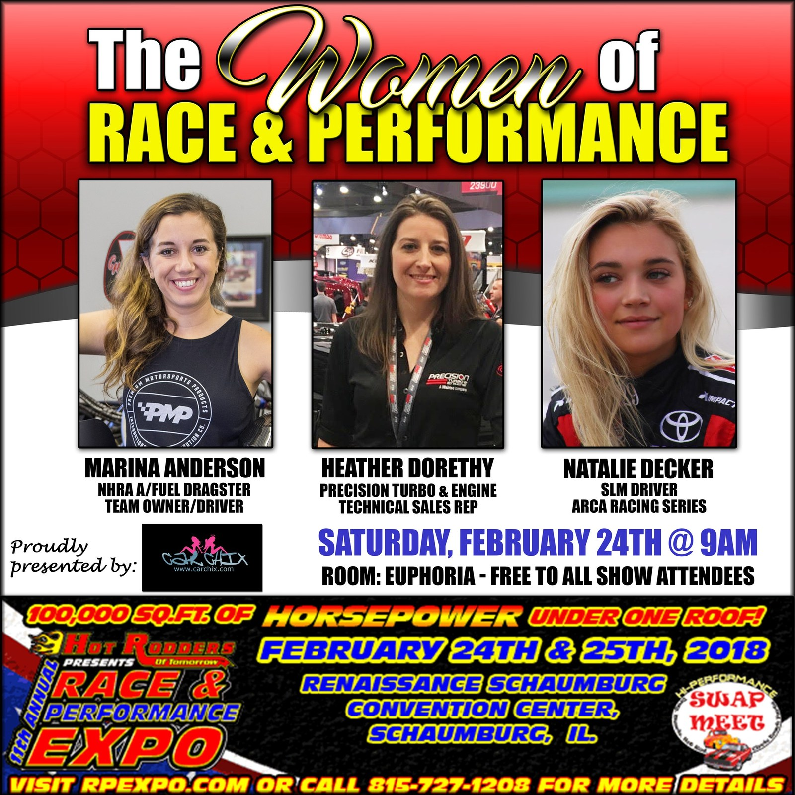 Car Chix WOMEN OF RACE AND PERFORMANCE