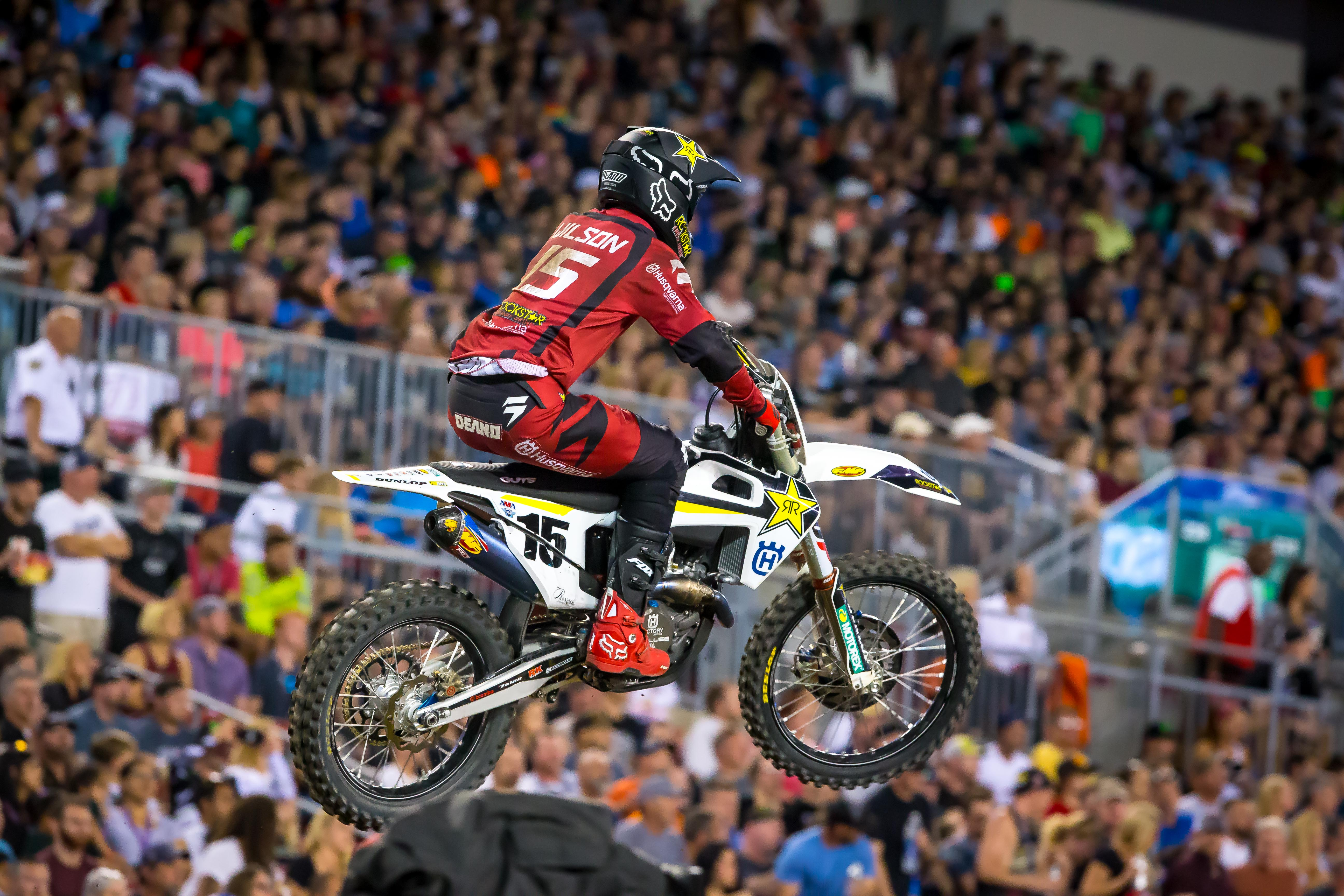 Husqvarna Factory Racing - Dean Wilson had his best finish of the season with a 7th in the 450 class.