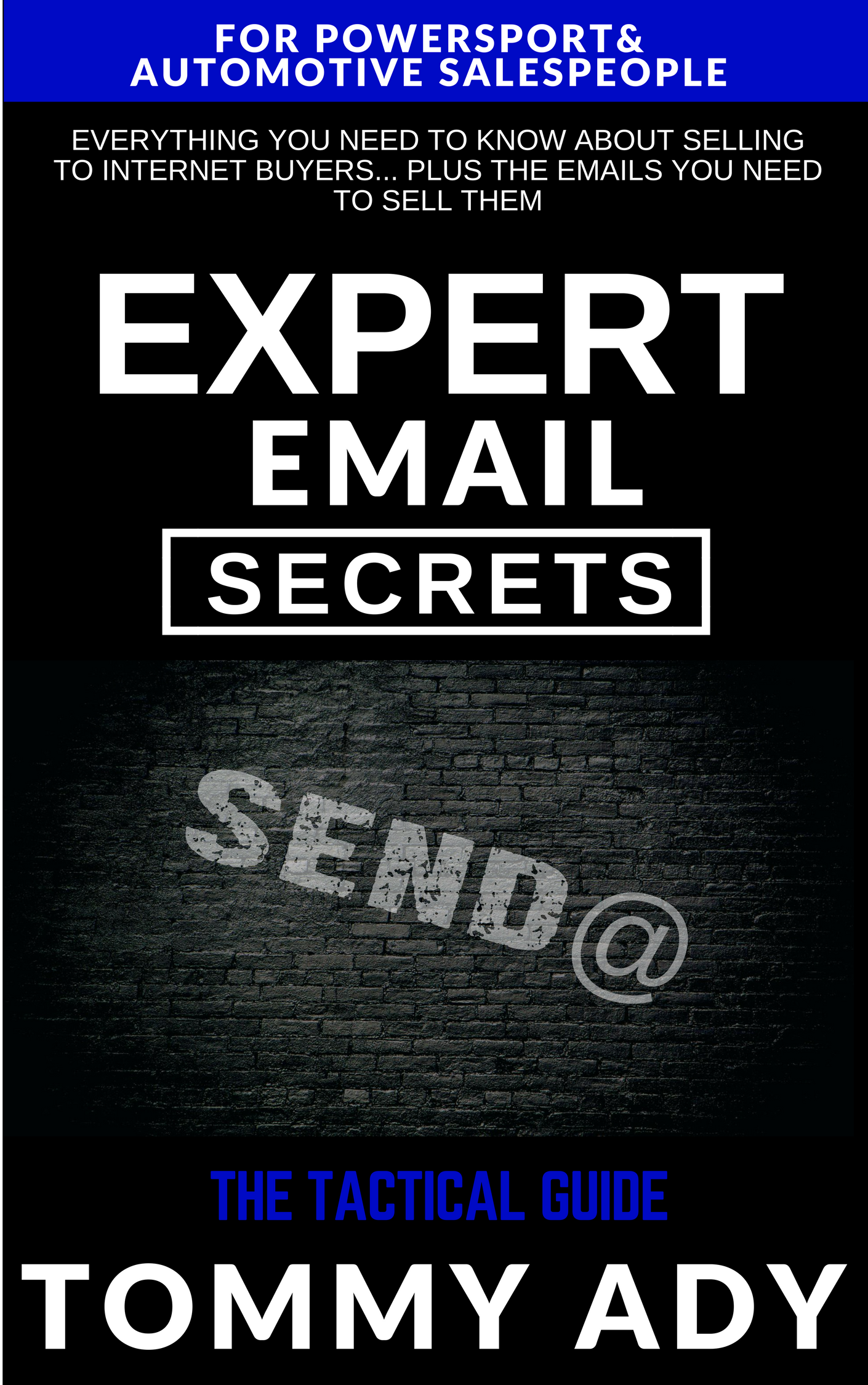 Expert Email Secrets Book Launch – Tommy Ady 2018