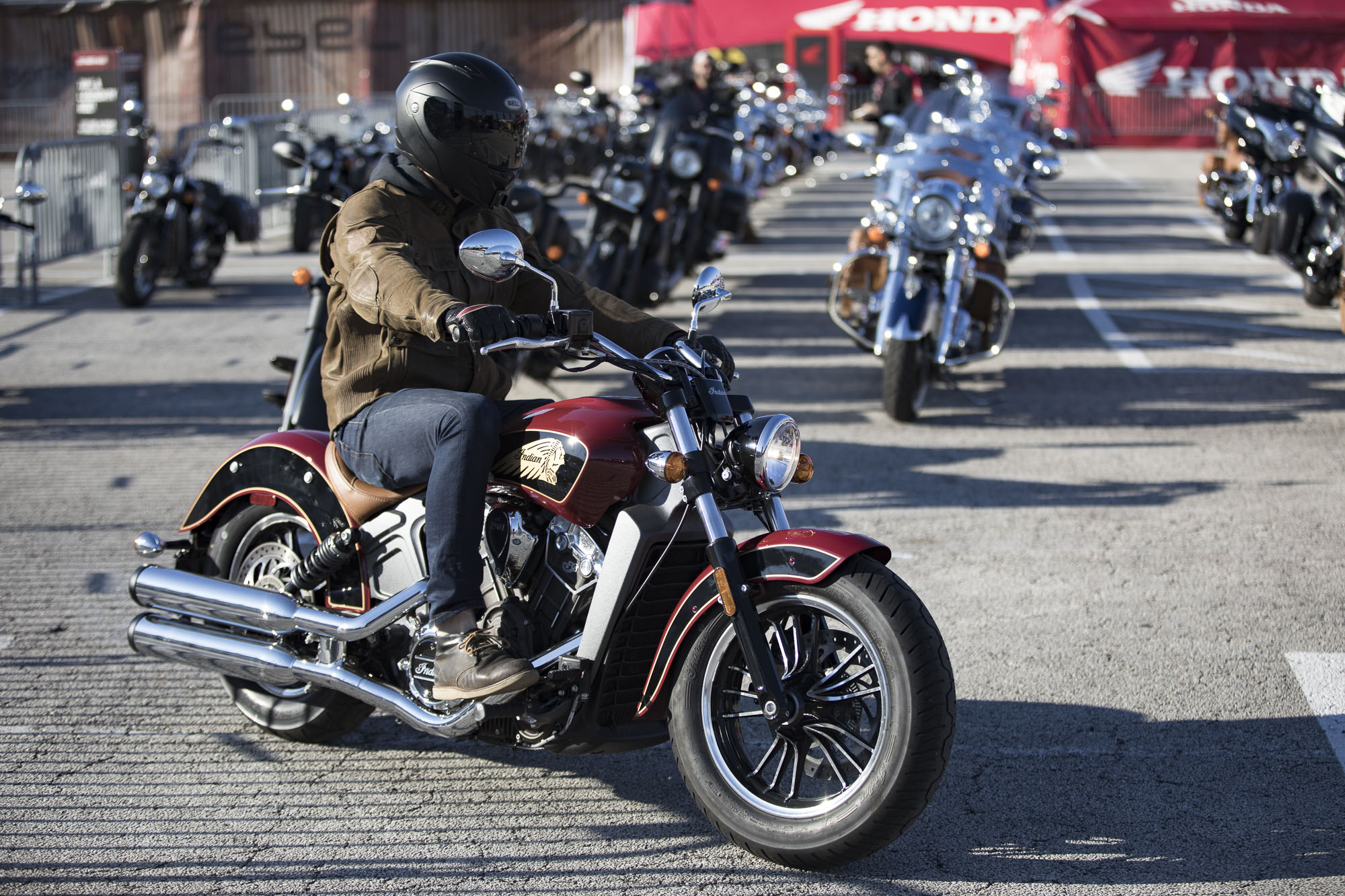 Indian Motorcycle DAYTONA BIKE WEEK Demos