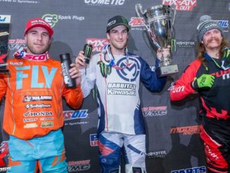 Jacob Hayes captures the AMSOIL Arenacross points lead with a dominating victory in Madison, Wisconsin