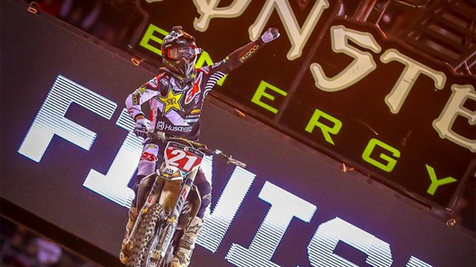 Jason Anderson finds first at Round 5 of the Monster Energy Supercross in Oakland