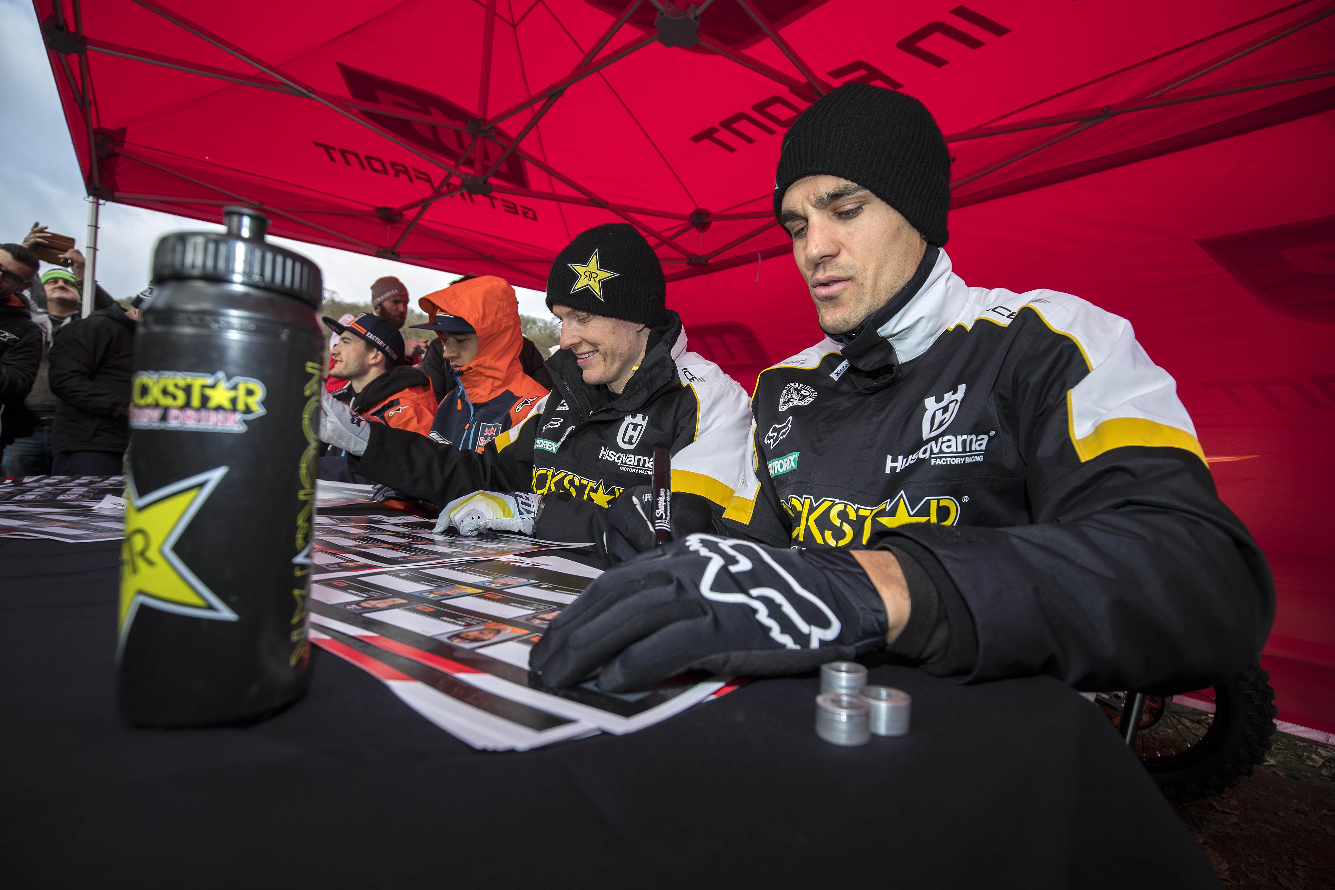 Max Anstie & Gautier Paulin - Rockstar Energy Husqvarna Factory Racing - Hawkstone