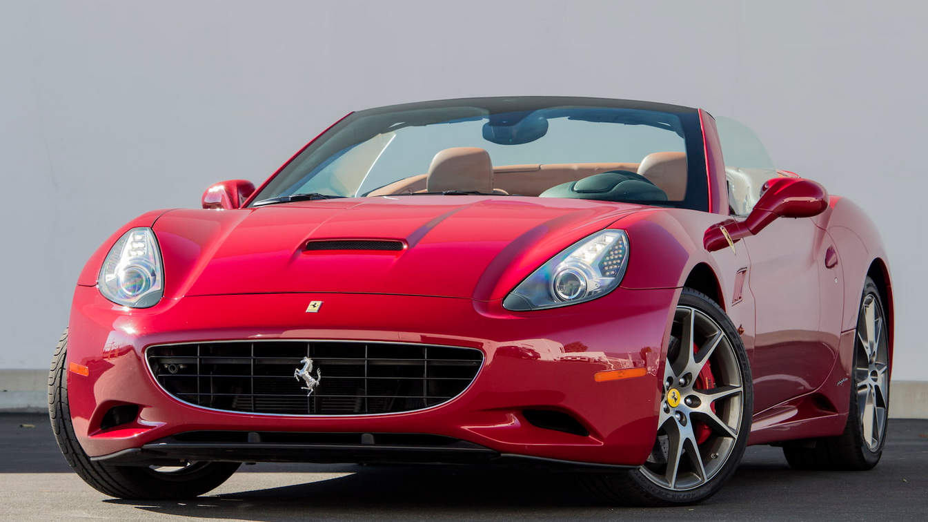Mecum Los Angeles - 2010 Ferrari California Spyder 4.3L, Automatic (Lot S180.1)