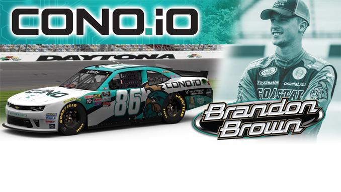 NASCAR Xfinity Series Driver Brandon Brown Driver of the CONO.io 86