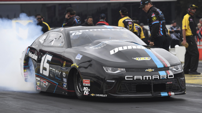 NHRA Pro Stock Tanner Gray - action