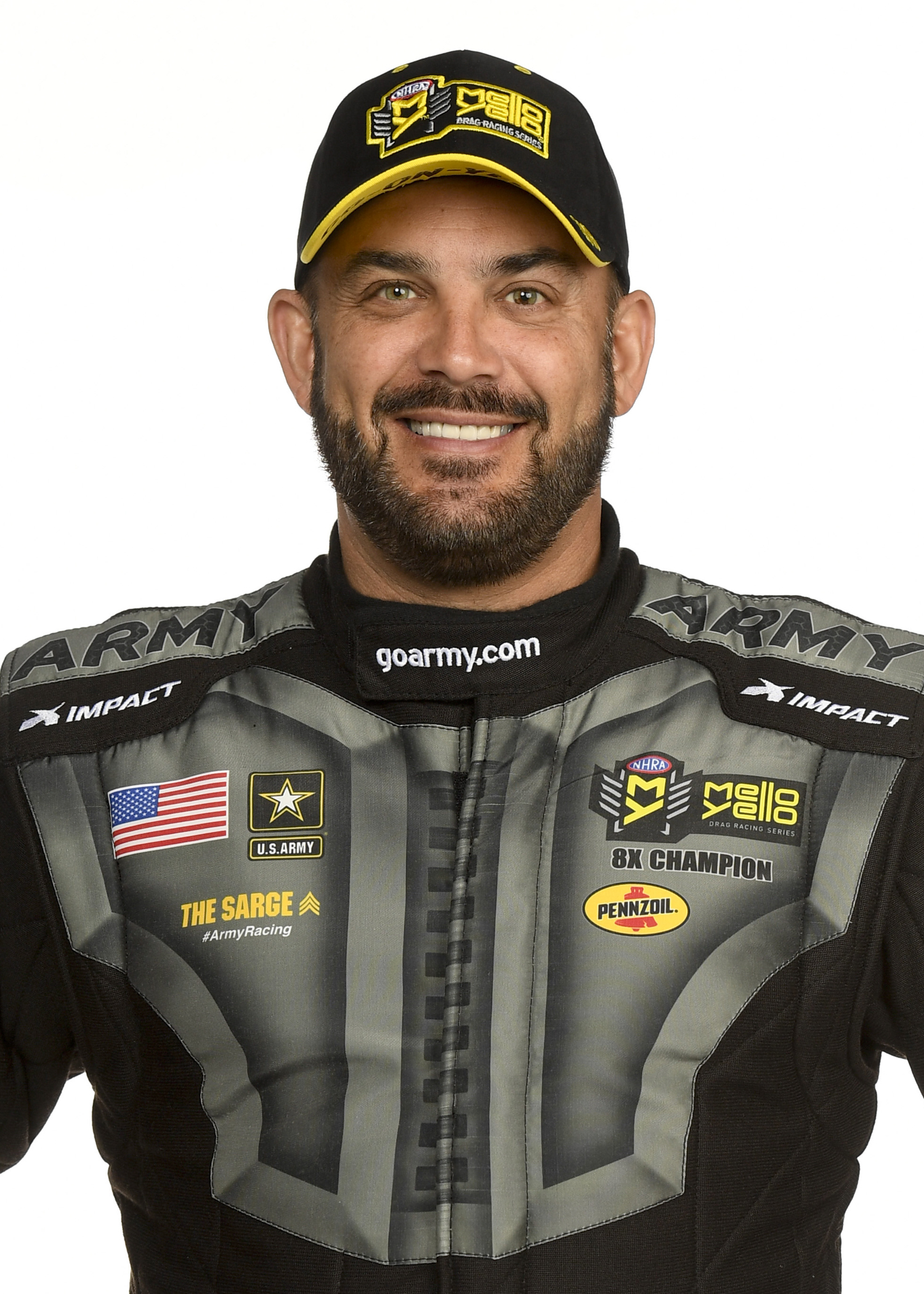 NHRA Top Fuel Champ Tony Schumacher