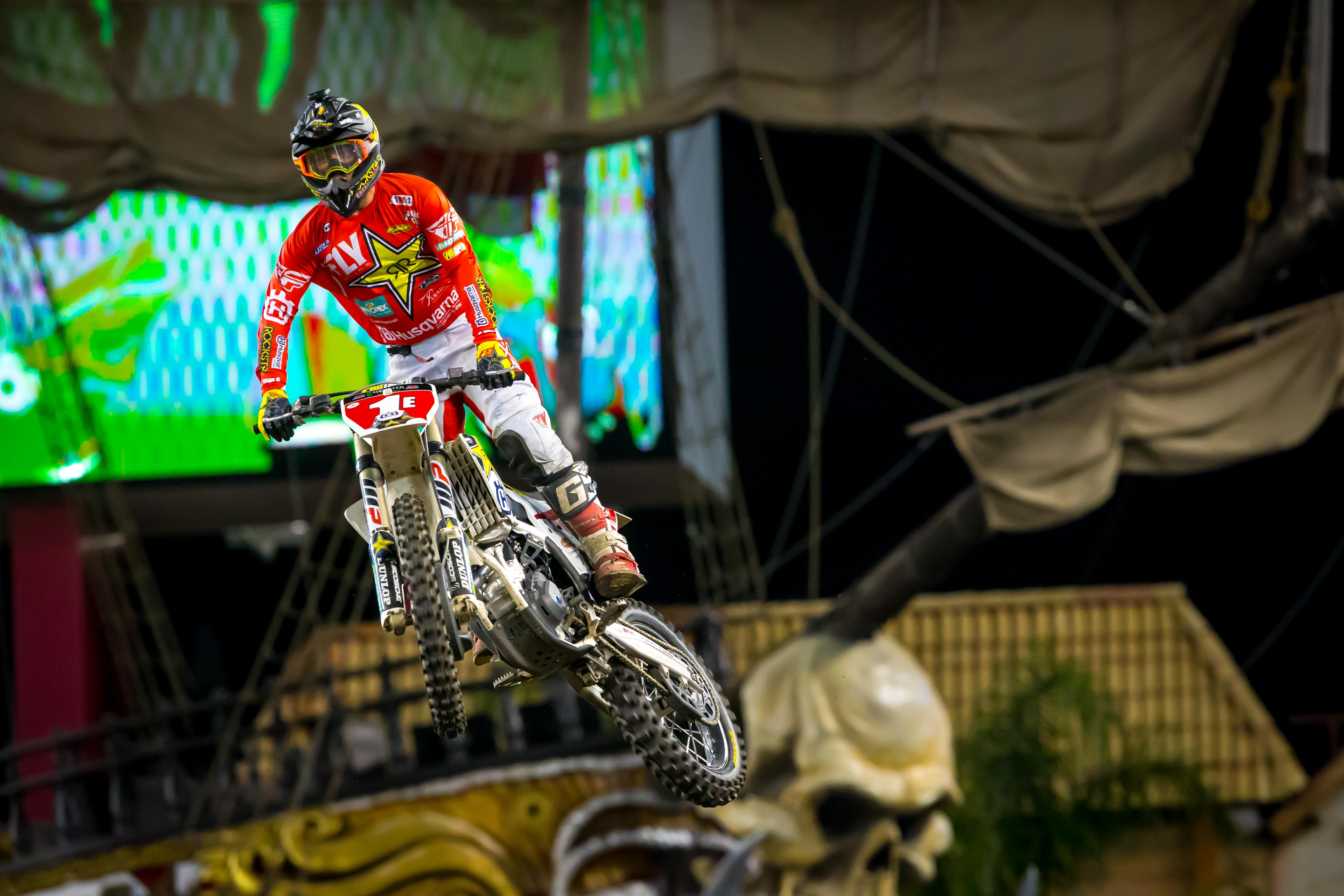 Osborne is the current 250SX East points leader