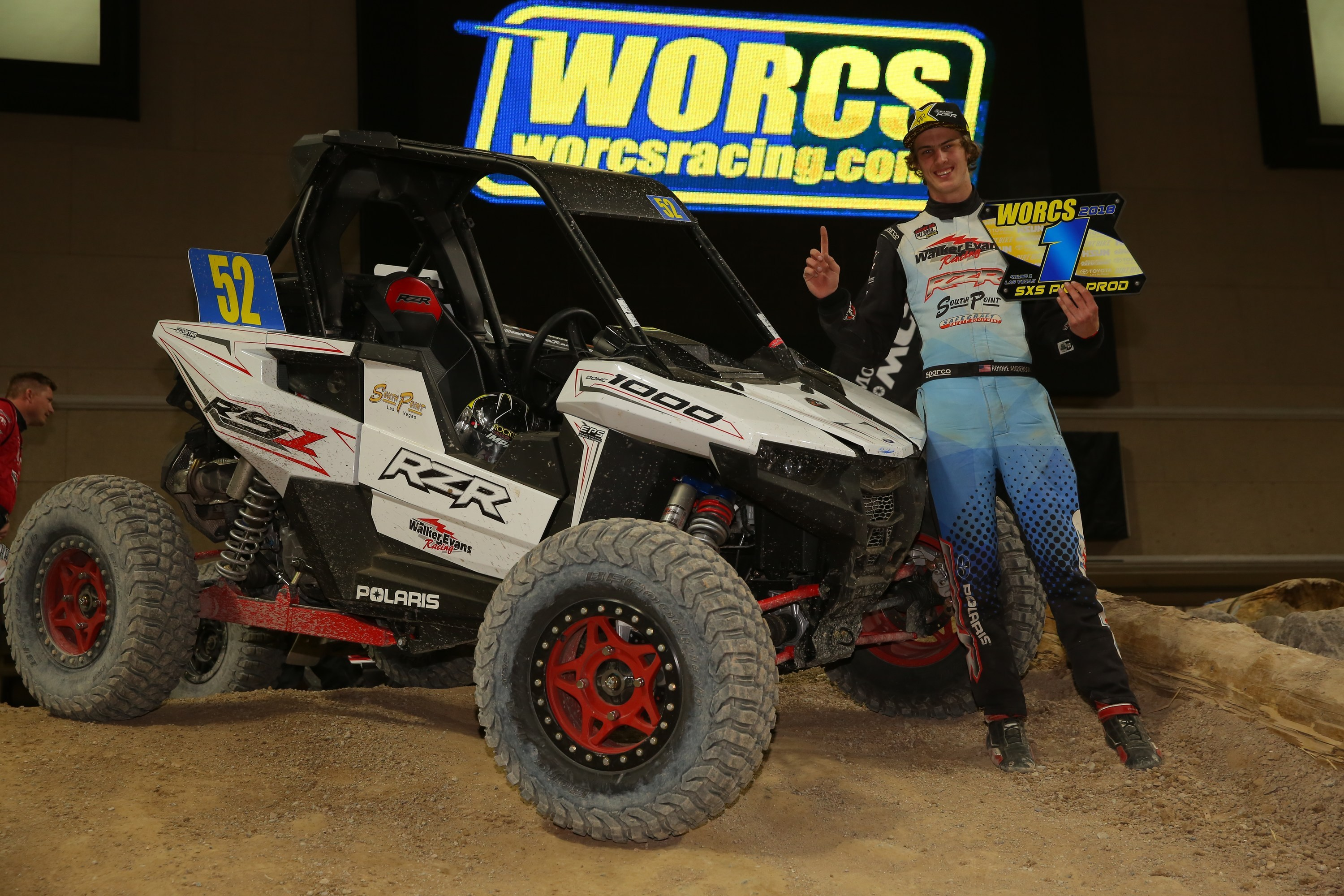 Polaris RZR Racing RS1 Ronnie Anderson WORCS