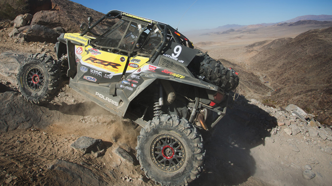 Polaris Factory Racing King of the Hammers Feb 2018 Mitch Guthrie Jr