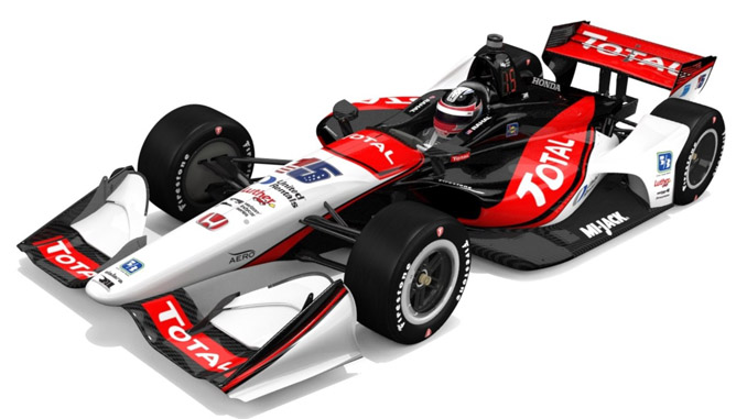 Bobby Rahal Toyota >> TOTAL QUARTZ Official Lubricant of Rahal Letterman Lanigan Racing