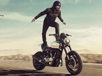 Squarespace Super Bowl ad - Keanu Reeves Stunt