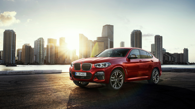 The All-New 2019 BMW X4 M4od