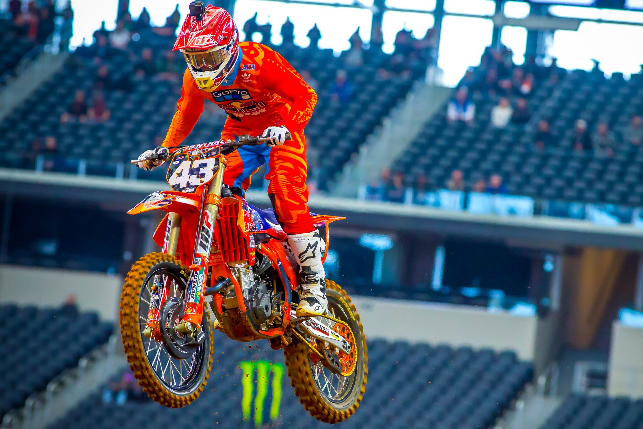 Troy Lee Designs/Red Bull/KTM's Smith and Cantrell Start Eastern Regional Championship with Top-10 Finishes