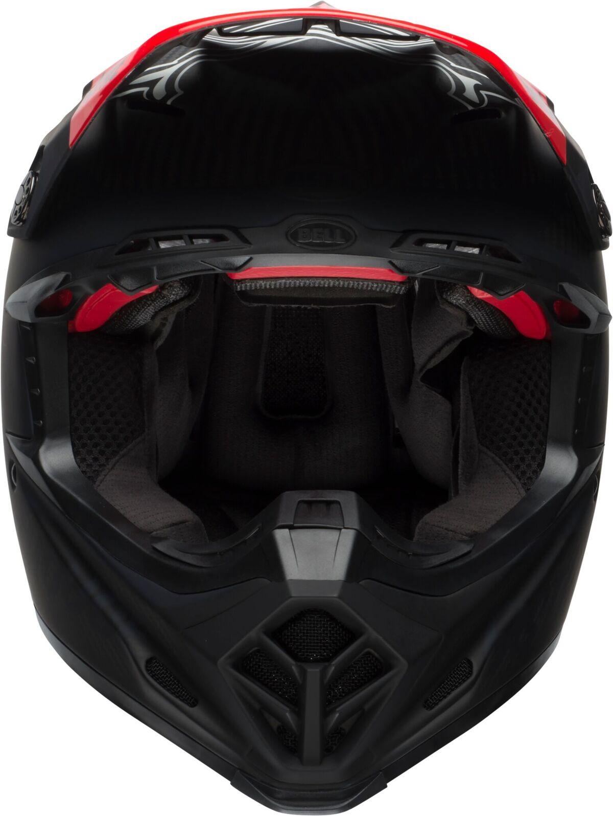 bell helmets moto 9 flex dirt helmet fasthouse day in the dirt matte gloss black