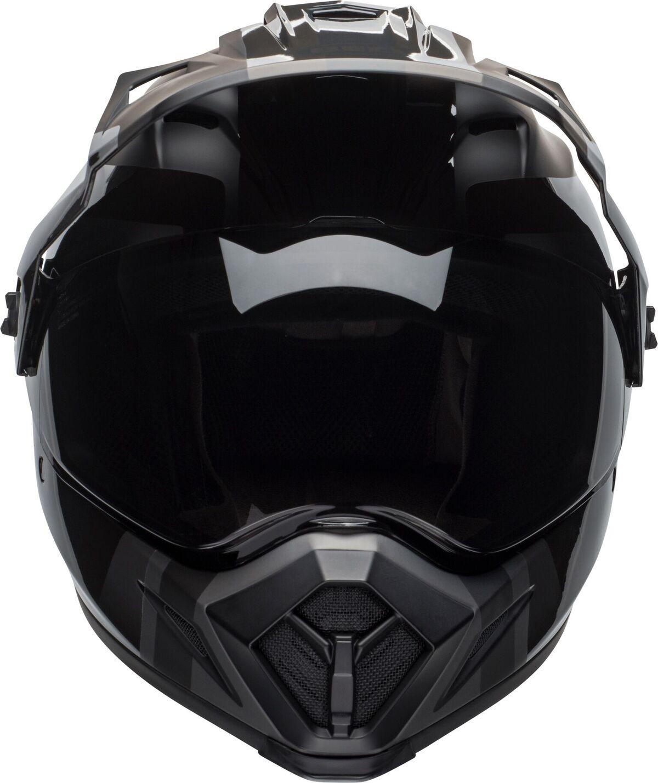 bell helmets mx 9 adventure mips dirt helmet matte gloss blackout