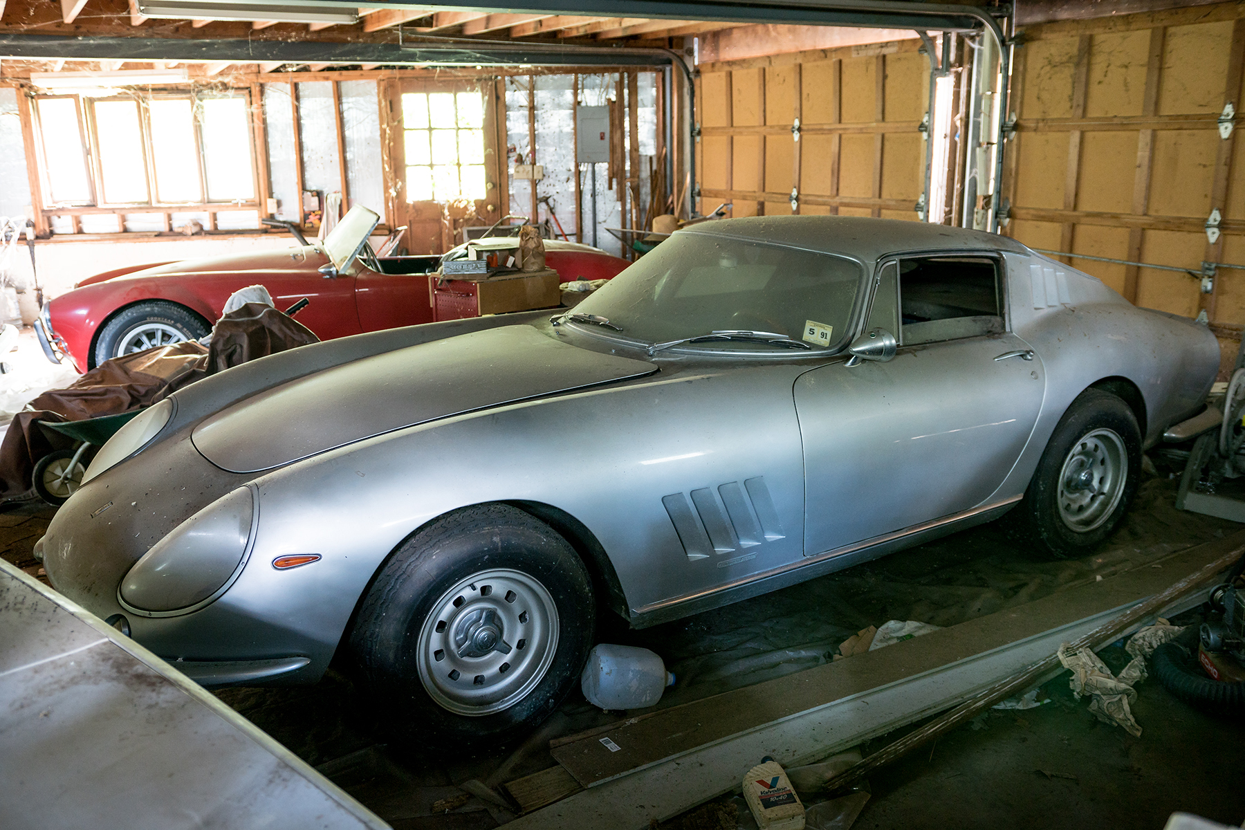 1966 Ferrari 275 GTB Long Nose Alloy gooding-barn-find-a-amelia-island-17183-1-P
