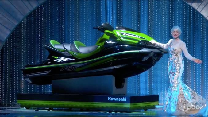 The 90th Oscars Award Show Presents Kawasaki Jet Ski Ultra 310LX For  Shortest Acceptance Speech