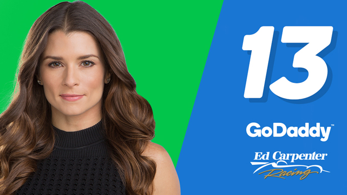 GoDaddy Danica Indy Announcement
