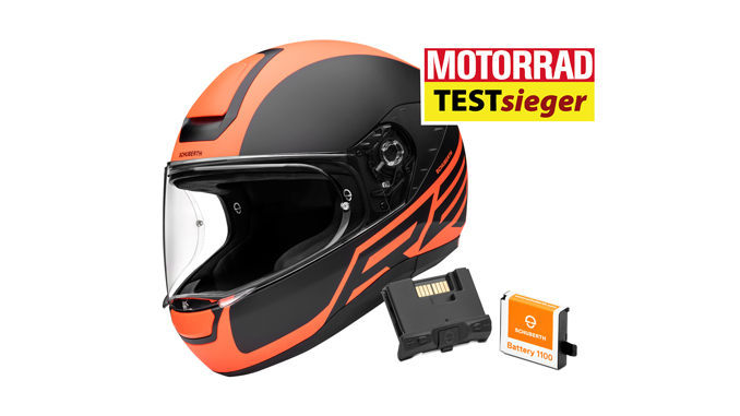 schuberth r2 with the integrated sc1 communication system. Black Bedroom Furniture Sets. Home Design Ideas